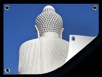Boeddha foto op tuinposter afdrukken